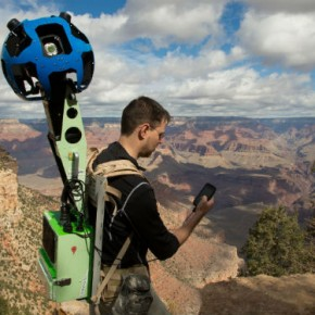 Tim Google Maps Menelusuri Grand Canyon untuk Foto Street View