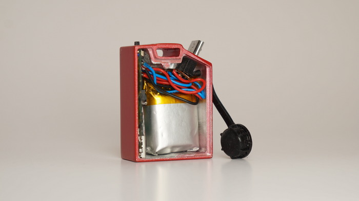 Bagian internal Fuel Charger